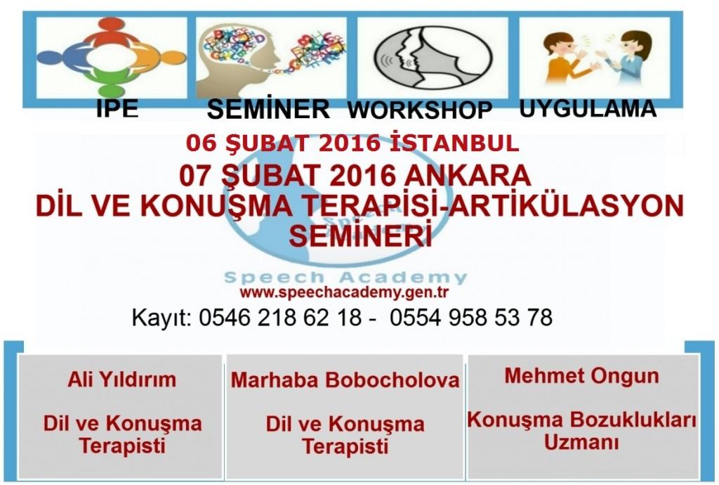 dil ve konusma semineri